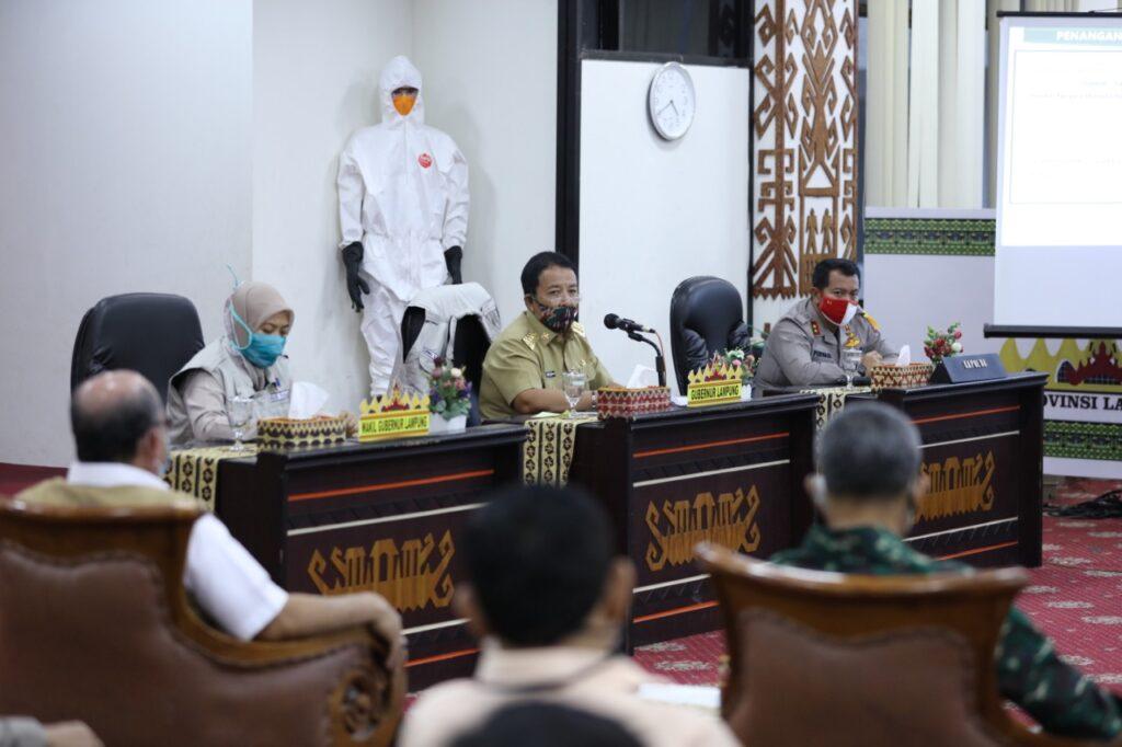 Gubernur Lampung Mengimbau Seluruh Warga Jalankan Shalat Id Di Rumah